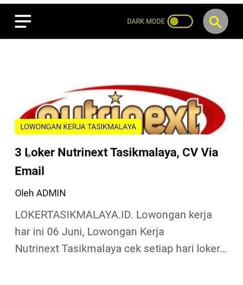 Situs in… baca selengkapnya loker tasik terbaru admin hspnet. Loker Tasikmalaya Setiap Hari Update - Home | Facebook