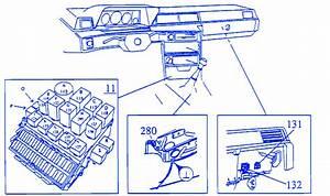 Volvo 760 Gle 1984 Fuse Box  Block Circuit Breaker Diagram