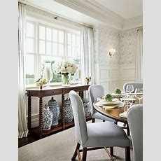 Dining Room Inspiration Featuring Round Dining Tables