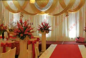 Tiffany Baby Shower Ideas by Popular Gold And White Wedding Drape Buy Cheap Gold And