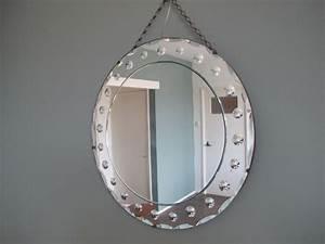 Runder Spiegel Silber : runder venezianischer spiegel 1950er bei pamono kaufen ~ Whattoseeinmadrid.com Haus und Dekorationen