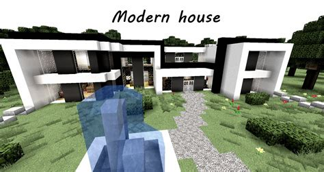 Minecraft Modernes Haus  Modern House [+download] Youtube