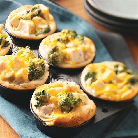 cup cuisine broccoli chicken cups recipe taste of home
