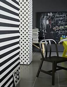 Wände Farblich Gestalten Beispiele : wandgestaltung in streifen w nde im streifenkleid ~ Markanthonyermac.com Haus und Dekorationen
