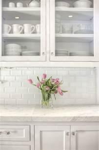 pictures of subway tile backsplashes in kitchen beveled subway tile backsplash traditional kitchen allison interior design