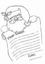 Santa Coloring Letter Printable Pages Dear Template Colouring Coloringfolder Letters Scribblefun από αποθηκεύτηκε Print sketch template