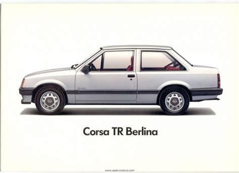 Opel Tr by Opel Corsa Tr 1 3 S Luxe 1983 Autoweek Nl