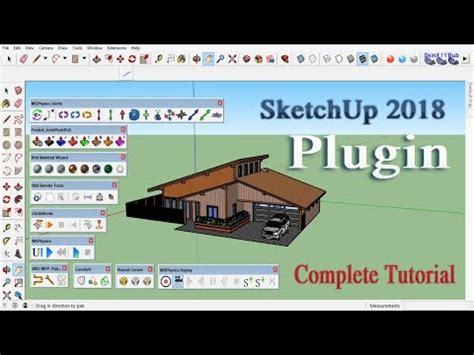 ide sketchup plugin installation full tutorial design
