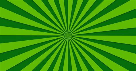 Animated Background Of Green Rotating Beams Motion