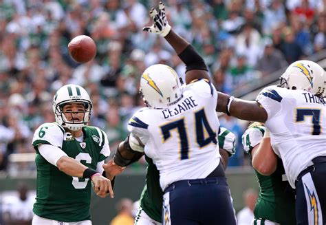 Mark Sanchez In San Diego Chargers V New York Jets