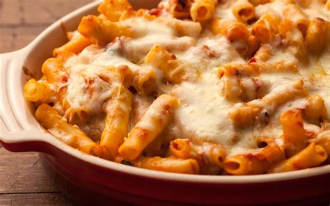 baked ziti with baked ziti recipe chowhound