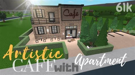 See the best & latest bloxburg cafe menu codes on iscoupon.com. BLOXBURG || Artistic cafe with apartment 61k - YouTube