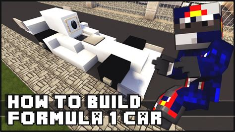 How To Build Car by Minecraft How To Make Formula 1 Car
