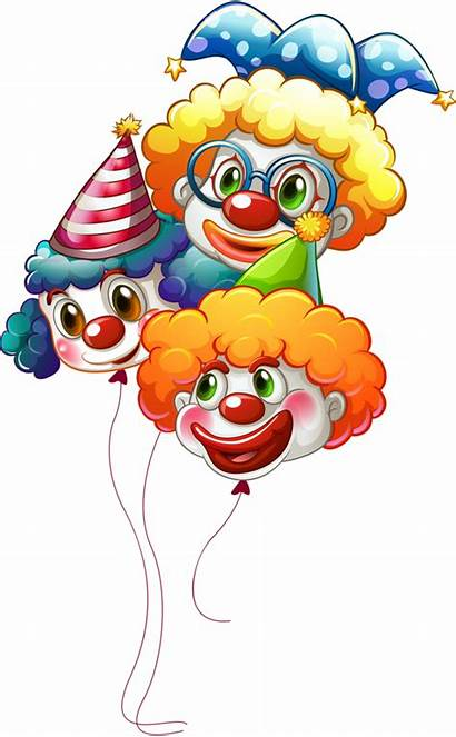 Clown Clipart Clowns Balloons Balloon Watercolour Fasching