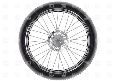 Mountain Bike Wheel, 36869, Objects, Download Royalty Free Vector Clipart (eps