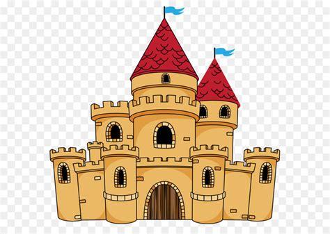 castle cartoon drawing clip art  castle png clipart