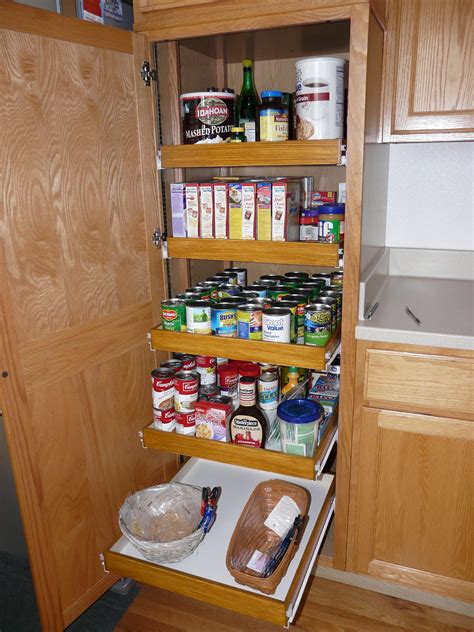 Kitchen Pantry Cabinet Pull Out Shelf Storage Sliding Shelves