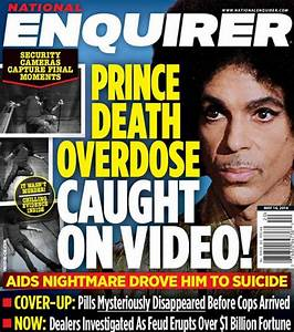 National Enquirer stages photos of Prince dying in lift at ...