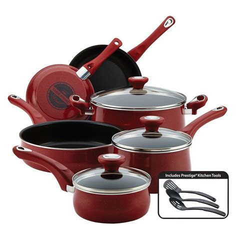 pots cuisine farberware traditions 12 cookware set with