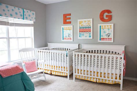 chambre jumeaux bébé déco de chambre pour jumeaux