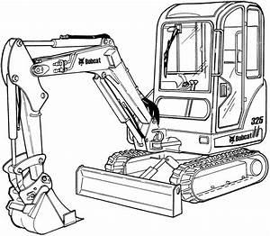 Bobcat 325  328  X325  X328 Excavator Factory Service