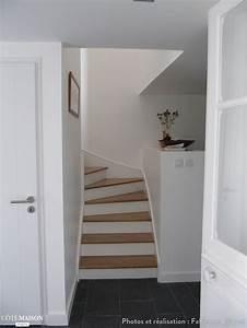 Escalier Bois Blanc : 275 best escaliers images on pinterest home ideas stairs and my house ~ Melissatoandfro.com Idées de Décoration