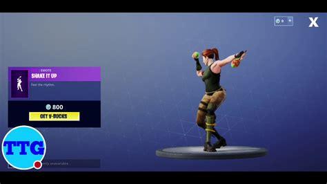 fortnite  shake   danceemote    item