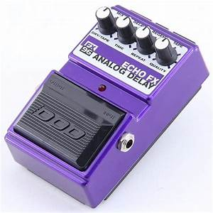 Dod Fx96 Echo Fx Analog Delay Guitar Effects Pedal Pd