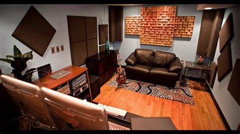 Home Recording Studio Design And Decorations  Youtube