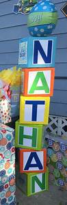 326 best images about abc blocks on pinterest toy story With baby shower letter boxes