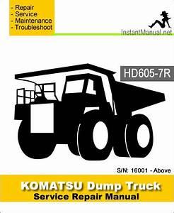 Komatsu Hd605