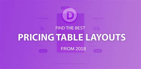 Divi Pricing Best Divi Pricing Table Layouts 2018 Divi Theme Layouts