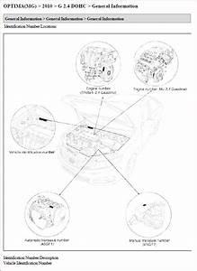 Kia Optima 2 4l Shop Manual 2005 2010
