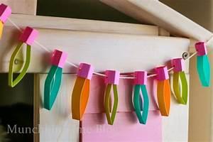 DIY Kids Room Decor - Paper Lights - Munchkin Time
