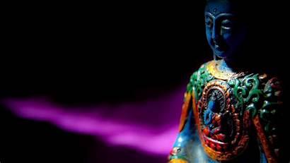 Buddha Meditation Buddhism Dark Buddhist Statue Laptop