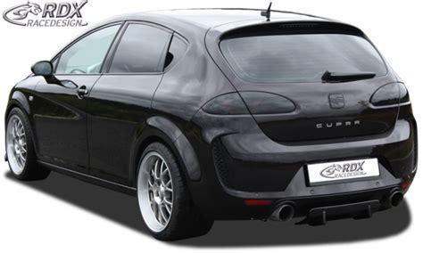 rdx rear diffuser seat leon p    facelift