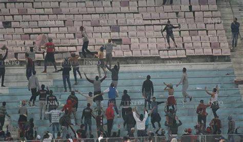 football plus de 40 personnes arr 234 t 233 es suite aux actes de violences au stade de rad 232 s directinfo