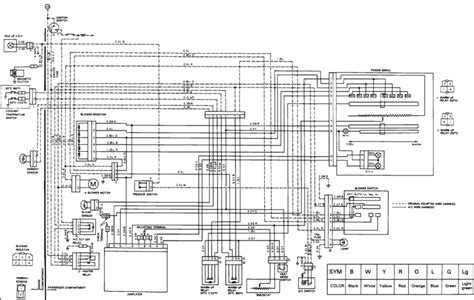 electrical diagram toyota nation forum toyota car and