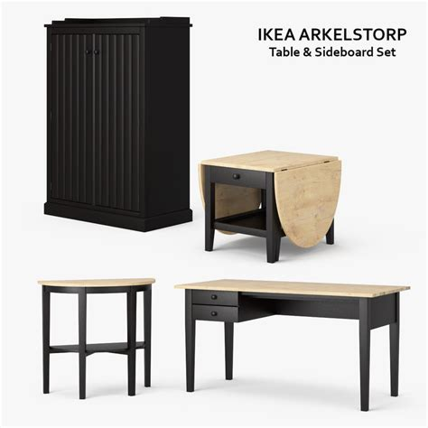 arkelstorp coffee table ikea 3d ikea arkelstorp set model