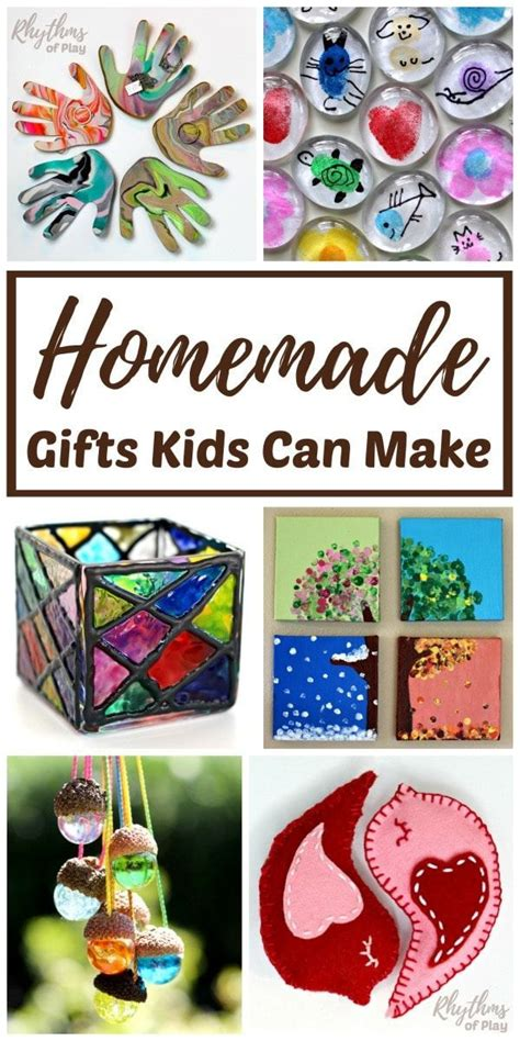 homemade gifts kids    parents  grandparents