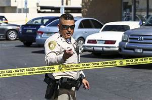 Las Vegas police say self-inflicted shot killed man, not ...