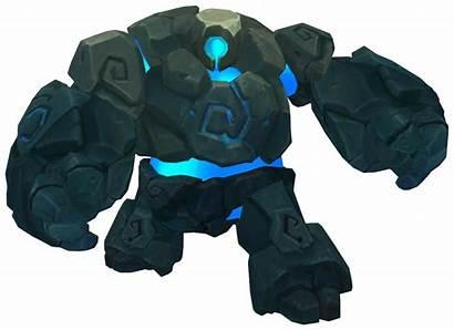 Sentinel Render Buff League Legends Jungle Azul
