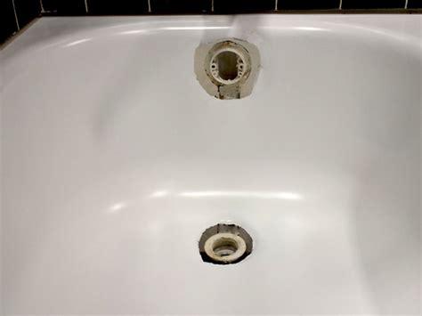 tub drain stopper repair bathtub drain overflow rust repair