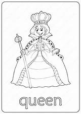 Queen Coloring Pages Printable Pdf Coloringoo Books Childrens sketch template