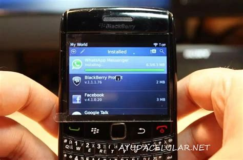 descargar e instalar whatsapp en blackberry 2018 ayuda celular