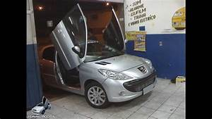 Peugeot 207 Xs 2010 Com Lambo Door Tuning Doors