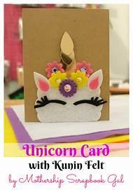Unicorn Birthday Card DIY