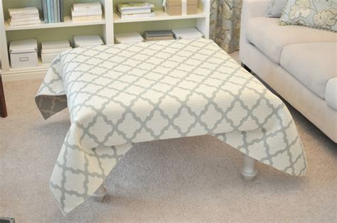 Make Ottoman by Not So Newlywed Mcgees Diy Upholstered Ottoman