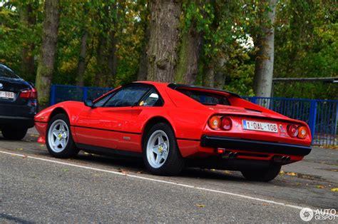This stunning vehicle comes in rosso corsa red with nero black leather hide interior. Ferrari 308 GTB Quattrovalvole - 3 November 2013 - Autogespot