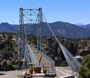 Colorado: Royal Gorge Bridge: The highest suspension ...
